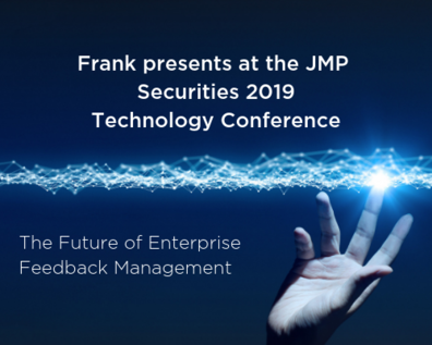 Press Release: Questback to Present at the JMP Securities  2019 Technology Conference