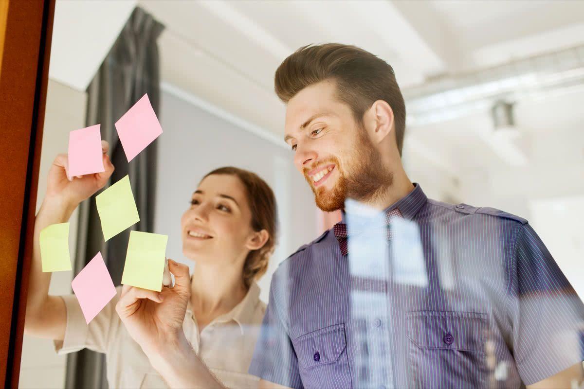 Glada medarbetare ar mer kreativa